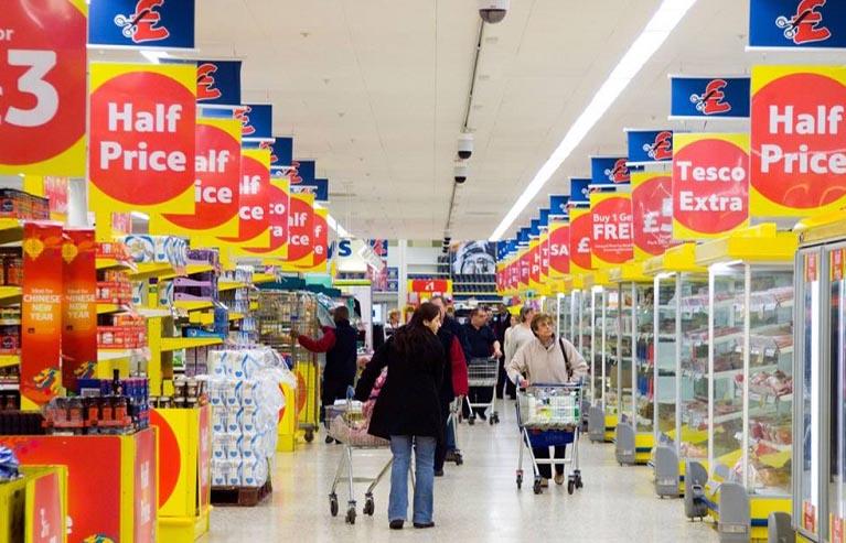 material POP para supermercados