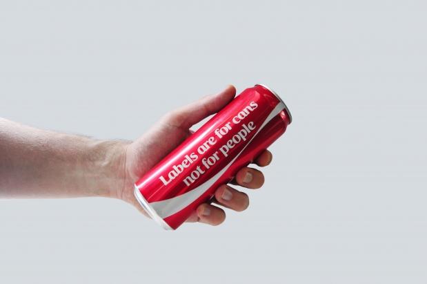 envase de coca cola
