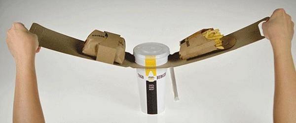 diseño de empaque para hamburguesas