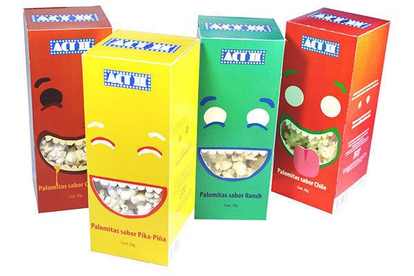Envases de alimentos para niños:
