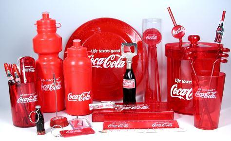 coca cola merchandising
