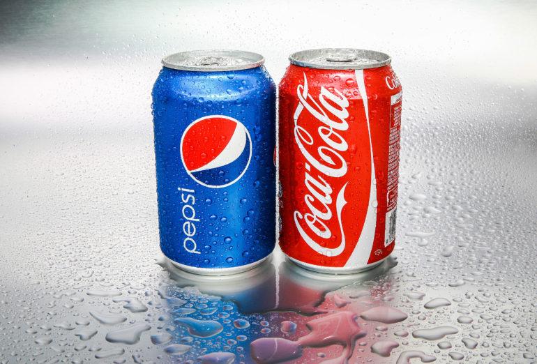 branding de Coca Cola vs Pepsi