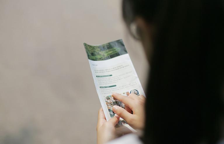 Características de un folleto publicitario