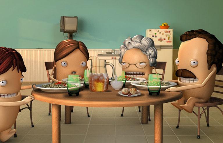 publicidades creativas para alimentos
