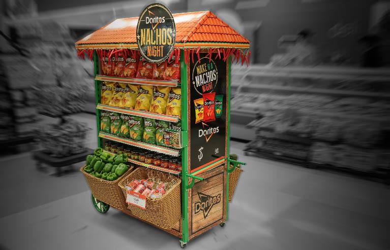 ejemplos de material pop creativos en supermercados