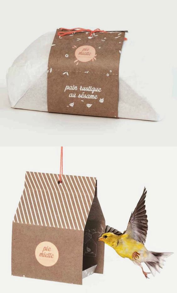 paquetes para pan