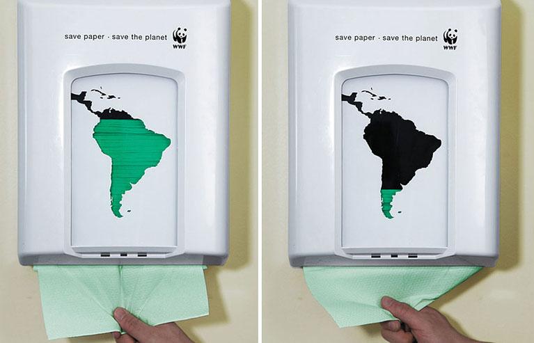 publicidades sobre el medio ambiente