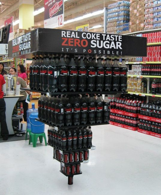 material pop de coca cola